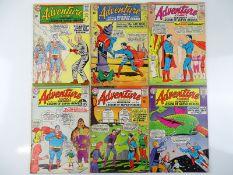 ADVENTURE COMICS #325, 328, 329, 330, 331, 332 - (6 in Lot) - (1964/65 - DC - US PRICE & UK Cover