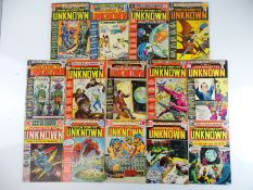 FROM BEYOND THE UNKNOWN #8, 10, 11, 12, 13, 14, 15, 16, 17, 18, 20, 22, 24, 25 - (14 in Lot) - (