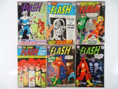 FLASH #166, 167, 168, 169, 170, 172 - (6 in Lot) - (1966/67 - DC - US Price & UK Cover Price) -