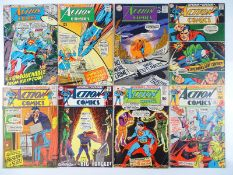 ACTION COMICS: SUPERMAN #364, 367, 368, 370, 371, 375, 383, 388 - (8 in Lot) - (1968/70 - DC - UK