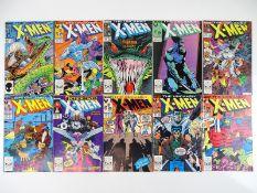 UNCANNY X-MEN #223, 231, 232, 234, 235, 237, 242, 244, 245, 246 - (10 in Lot) - (1987/89 - MARVEL) -