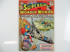 BRAVE AND BOLD #63 - (1965 - DC - UK Cover Price) - Scarce all-female team up between Wonder Woman &