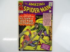 AMAZING SPIDER-MAN #11 - (1964 - MARVEL - UK Price Variant) - Second appearance of Doctor