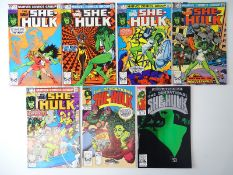 SHE-HULK - (7 in Lot) - (MARVEL - UK Price Variant & US Price) - Includes SAVAGE SHE-HULK (1980/