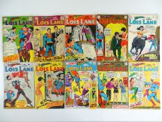 SUPERMAN'S GIRLFRIEND LOIS LANE #88, 89, 90, 91, 92, 93, 94, 95, 96, 97 - (10 in Lot) - (1969/70 -