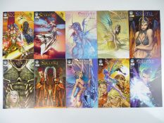SOULFIRE (10 in Lot) - (ASPEN) - ALL First Printings - SOULFIRE (2004) #1 (x 5 Variant Covers A,
