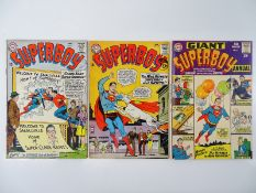SUPERBOY #107, 118 + GIANT-SIZE ANNUAL #1 - (3 in Lot) - (1963/65 - DC - UK Cover Price) - Flat/