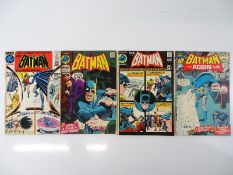 BATMAN #228, 229, 233, 240 - (4 in Lot) - (1971/72 - DC - UK Cover Price) - Flat/Unfolded