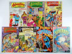 ADVENTURE COMICS #330, 359, 360, 363, 392, 457, 458 - (7 in Lot) - (1965/80 - DC - UK Cover Price) -