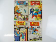 ACTION COMICS: SUPERMAN #311, 312, 313, 314 - (4 in Lot) - (1964 - DC - US Price & UK Cover Price) -
