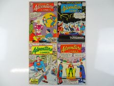 ADVENTURE COMICS #307, 312, 315, 316 - (4 in Lot) - (1963/64 - DC - UK Cover Price) - Flat/Unfolded