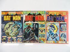 BATMAN #254, 255, 260 - (3 in Lot) - (1974/75 - DC - US Price & UK Cover Price) - Giant-Size