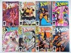 UNCANNY X-MEN #205, 206, 207, 208, 209, 210, 211, 212 - (8 in Lot) - (1986 - MARVEL) - Flat/
