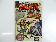 DAREDEVIL #6 - (1965 - MARVEL - UK Cover Price) - Origin and first appearance of Mr. Fear - Wally