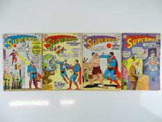 SUPERMAN #168, 169, 171, 173 - (4 in Lot) - (1964 - DC - UK Cover Price) - Flat/Unfolded