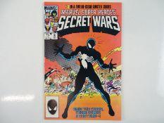 MARVEL SUPER HEROES SECRET WARS #8 - (1984 - MARVEL) - Origin of Spider-Man's black costume (the