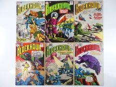 BLACKHAWK #145, 146, 164, 165, 166, 169 - (6 in Lot) - (1960/62 - DC - US Price & UK Cover
