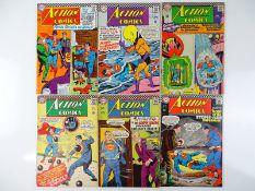 ACTION COMICS: SUPERMAN #337, 338, 339, 341, 345, 350 - (6 in Lot) - (1966/67 - DC - US Price & UK