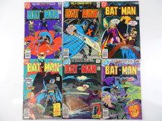 BATMAN #297, 298, 299, 301, 306, 307 - (6 in Lot) - (1978/79 - DC - UK Price Variant & UK Cover