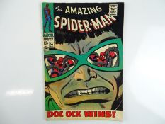 AMAZING SPIDER-MAN #55 - (1967 - MARVEL) - Spider-Man battles Doctor Octopus - John Romita Sr. cover