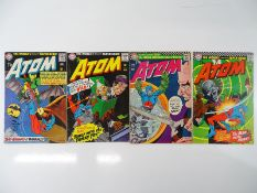 ATOM #22, 23, 24, 25 - (4 in Lot) - (1966 - DC - US Price & UK Cover Price) - Flat/Unfolded
