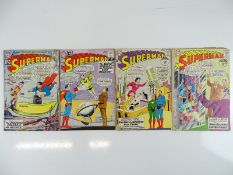 SUPERMAN #154, 157, 159, 160 - (4 in Lot) - (1962/63 - DC - UK Cover Price) - Flat/Unfolded