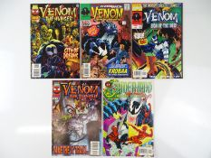 VENOM LOT - (5 in Lot) - (MARVEL) - ALL First Printings - Includes SPIDER-MAN HOLIDAY SPECIAL (1995)