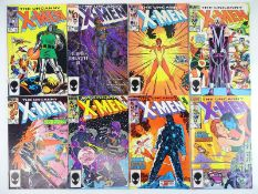 UNCANNY X-MEN #197, 198, 199, 200, 201, 202, 203, 204 - (8 in Lot) - (1985/86 - MARVEL) - Flat/