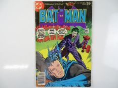 BATMAN #294 - (1977 - DC - UK Cover Price) - Classic Joker Cover - Joker appearance - Jim Aparo