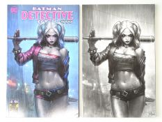 DETECTIVE COMICS #1000 - (2 in Lot) - (2020 - DC) - Includes the Jeehyung Lee Harley Quinn Variant