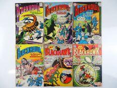 BLACKHAWK #146, 176, 187, 188, 197, 199 - (6 in Lot) - (1960/64 - DC - US Price & UK Cover