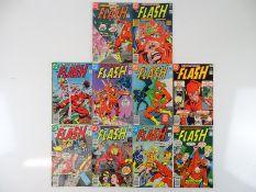 FLASH #255, 256, 257, 258, 259, 260, 261, 262, 263, 264 - (10 in Lot) - (1979/ - DC - US Price, UK