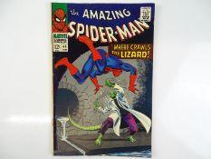 AMAZING SPIDER-MAN #44 - (1967 - MARVEL) - Second appearance of the Lizard - John Romita Sr. cover