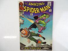 AMAZING SPIDER-MAN #39 - (1966 - MARVEL) - Green Goblin is unmasked as Norman Osborn - John Romita