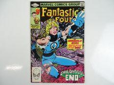 FANTASTIC FOUR #245 - (1982 - MARVEL) - First appearance King in Black (Franklin Richards) - John