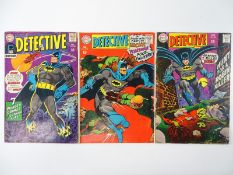 DETECTIVE COMICS: BATMAN #368, 372, 374 - (3 in Lot) - (1967/68 - DC - UK Cover Price) - Flat/