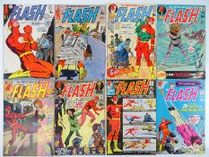 FLASH #198, 199, 201, 202, 203, 204, 205, 206 - (8 in Lot) - (1970/71 - DC - US PRICE & UK Cover