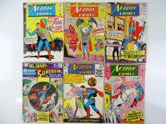 ACTION COMICS: SUPERMAN #329, 330, 331, 334, 335, 336 - (6 in Lot) - (1965/66 - DC - US Price & UK