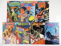 DETECTIVE COMICS: BATMAN #478, 518, 544, 563, 588, 589, 590 - (7 in Lot) - (1978/88 - DC) - Flat/