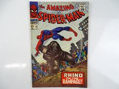 AMAZING SPIDER-MAN #43 - (1966 - MARVEL) - Origin of the Rhino + First full appearance of Miss