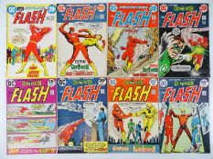 FLASH #218, 220, 221, 222, 223, 224, 225, 226 - (8 in Lot) - (1972/74 - DC - US PRICE & UK Cover