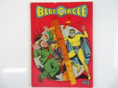 BLUE CIRCLE COMICS #2 - (1944 - REWL) - Pre-Code Issue - Flat/Unfolded - a photographic condition