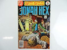 JONAH HEX #1 - (1977 - DC) - First appearance in own title - Jose Luis Garcia-Lopez cover and