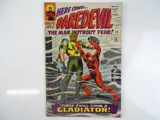 DAREDEVIL #18 - (1966 - MARVEL - UK Price Variant) - Origin and First appearance of Gladiator -