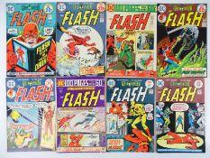 FLASH #227, 228, 229, 230, 231, 232, 233, 234 - (8 in Lot) - (1974/75 - DC - UK Cover Price) -