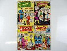 ADVENTURE COMICS #268, 287, 288, 294 - (4 in Lot) - (1960/62 - DC - US PRICE & UK Cover Price) -