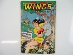 WINGS COMICS #86 - (1947 - WINGS/FICTION HOUSE) - Pre-Code Issue - George Evans, Charles Sultan, Bob