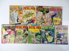 METAL MEN #2, 3, 4, 5, 7, 8, 10, 11, 12 - (9 in Lot) - (1963/67 - DC - UK Cover Price) - Flat/