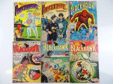 BLACKHAWK #191, 194, 195, 197, 198, 199 - (6 in Lot) - (1963/64 - DC - US Price & UK Cover