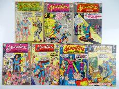 ADVENTURE COMICS #325, 340, 344, 349, 352, 360, 392 - (7 in Lot) - (1964/70 - DC - US PRICE & UK